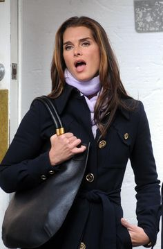 Brooke Shields in Lipstick Jungle, 2008.