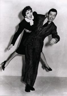 Claudette Colbert and James Stewart.  I think they're doing Summer and Aaron's dance move!