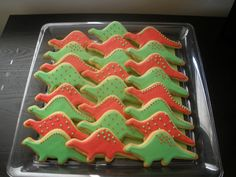 Dinosaur cookies | Flickr - Photo Sharing!