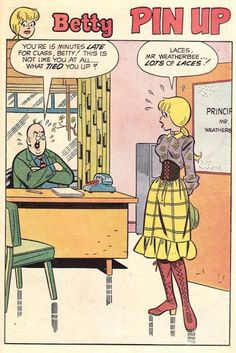 No, Betty. | 31 Totally Wearable Vintage Archie Comics Looks For Girls