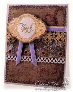 Card by Cheryl Lea using Verve Stamps.  #vervestamps