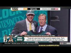 """ESPN First Take Today - Terrell Owens Calls Sam Bradford """"A Coward"""""""
