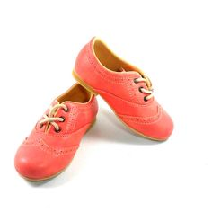 Kids Girl Shoes Classic Wingtip Brogue Oxford by MewowShoes