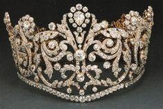 Tiara purporting to date from 1830.  Very reminiscent of Josephine's 1804 coronation diadem.
