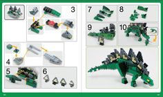 Whether you're brand new to LEGO or have been building for years, unleash your imagination with The LEGO Adventure Book! Learn to build robots, trains, medieval villages, and much more. Dinosaur Projects, Lego Projects, Lego Jurassic World, Jurassic Park, Lego Books, Lego Robot, Lego Lego, Classic Lego, Lego Kits
