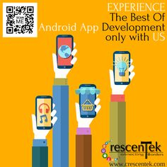 We give your brand an immense strength with our brilliant #androidapp development technology. Along with #mobileapp development, our team is also expert in #ecommercewebdesign and #responsivewebsite developments.
