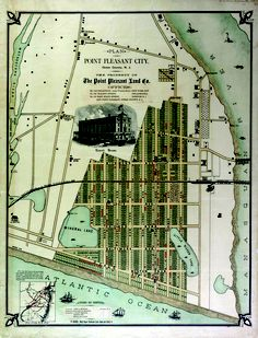PPB map circa 1880 from Rutgers Special Collections