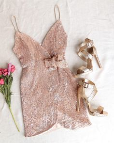 Meant To Be Mini Sequin Party Wrap Dress – More Colors - Party Business Look Fashion, Trendy Fashion, Beautiful Outfits, Cute Outfits, Business Dresses, Western Dresses, Colorful Fashion, Homecoming Dresses, Ideias Fashion