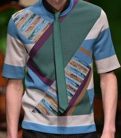 patternprints journal: PRINTS, PATTERNS, TEXTURES AND TEXTILE SURFACES FROM MENSWEAR S/S 2016 COLLECTIONS / MILANO CATWALKS Salvatore Ferragamo