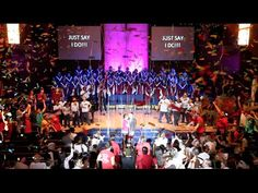 AMAZING and most elaborate Proposal of 2015: SINGING FLASH MOB - EPIC at...
