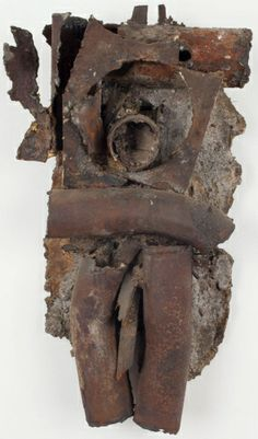 Robert Mallary Child 1961 mixed media and resin 19 x 10 x 5 1/2 in.