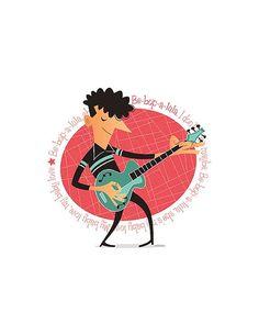 Mira este artículo en mi tienda de Etsy: https://www.etsy.com/es/listing/289762137/gene-vincent-50s-rock-roll-instant
