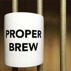 Proper Brew Mug by TheManchesterBee on Etsy