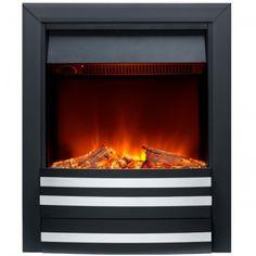 cheminee electrique a poser 1850 watts nd 18e2 noir. Black Bedroom Furniture Sets. Home Design Ideas