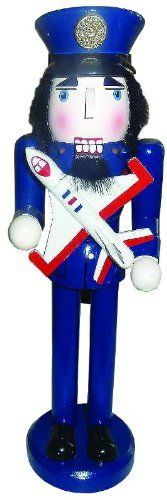 "15"" United States Air Force Patriotic Military Wood Soldier Christmas Nutcracker CC Christmas Decor http://www.amazon.com/dp/B00D7KN6RE/ref=cm_sw_r_pi_dp_KfZzwb0T04KDN"