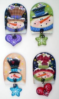 Click to see full size image Yule Crafts, Snowman Crafts, Snowman Ornaments, Christmas Tree Ornaments, Holiday Crafts, Christmas Yard Art, Christmas Wood, Christmas Projects, Spoon Craft
