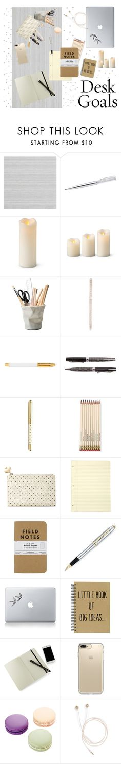 """What's on my Desk"" by moondust-and-earthlight on Polyvore featuring interior, interiors, interior design, home, home decor, interior decorating, Zoffany, Improvements, ESSEY and Tiffany & Co."