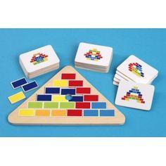 Układanka piramida