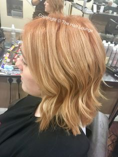 Colour contouring ginger hair with highlights