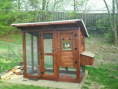 Stained Glass Chicken Coop - BackYard Chickens Community