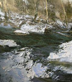 Lynn Boggess, Winter 2015, oil, 46 x 40.