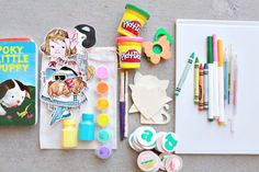 Keep Kids Busy Kit from Elizabeth Kartchner