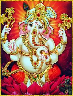 Make this Ganesha Chathurthi 2020 special with rituals and ceremonies. Lord Ganesha is a powerful god that removes Hurdles, grants Wealth, Knowledge & Wisdom. Shiva Art, Ganesha Art, Hindu Art, Ganesha Drawing, Krishna Art, Ganesha Pictures, Ganesh Images, Om Gam Ganapataye Namaha, Ganesh Photo
