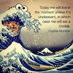 Got to love Cookie Monster :)