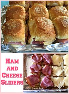 Ham and Cheese Sliders
