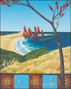 Cape Reinga by Maryanne Thomsen for Sale - New Zealand Art Prints