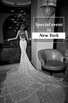 We invite you to a special event - New York Trunk Show at Bridal Reflections  23 - 26 April, 2015 Galia Lahav is greatly looking forward to meeting you and creating your dream dress for the big day. It's our duty to make you the most magnificent bride that ever was as we invite you to see our entire collection of dresses and guide you towards making your fairytale come to life!