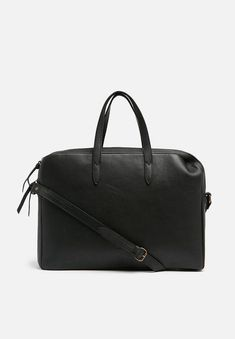 Anna Leather Briefcase - Black NOOS FSP Collection Bags & Purses | Superbalist.com