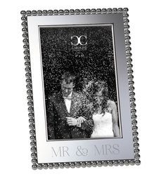 Mr & Mrs frame by Roman Mr Mrs, Wedding Anniversary, Wedding Gifts, Roman, Bridal Shower, Frame, Cards, Marriage Anniversary, Couple Shower