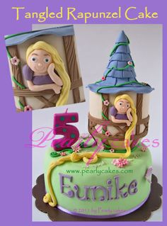 Rapunzel Fairy Tale by Pearlycakes.com