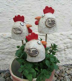 + Ceramic + Recipes + - + with + Spring . - Keramik - Welcome Haar Design Clay Birds, Ceramic Birds, Ceramic Decor, Ceramic Pottery, Pottery Art, Ceramic Art, Cement Crafts, Clay Crafts, Diy And Crafts