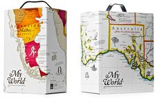 My World More maps on packaging @FM E