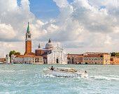 Venice Lagoon, Italy, Venitian 8x10, 11x14, 16x24, 20x30, Home Decor, Photography, Alissa Esposito Photography