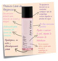 """desmaquillante"" Mary Kay"