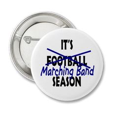 Marching Band Season Pins
