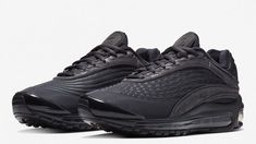 04a8db38930c Nike Air Max Deluxe Triple Black Color  Oil Grey Oil Grey-Oil Grey
