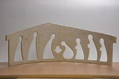 Cutout Nativity Figures - Large by DowntoEarthenware on Etsy Christmas Clay, Christmas Nativity Scene, What Is Christmas, Etsy Christmas, Christmas Projects, All Things Christmas, Holiday Crafts, Christmas Ornaments, Nativity Scenes