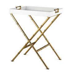 Mid Century Modern Luxury Furniture | Meurice Butler Decorative Tray Table | Jonathan Adler