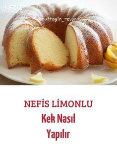 How to Make Yummy Lemon Cake - Dessert Time Banana Recipes, Easy Cake Recipes, Lemon Blueberry Bars, Lemon Muffins, Tea Cookies, Healthy Peanut Butter, Recipe 30, Lemon Desserts, Makati