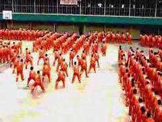 "Filipino prisoners in their rendition of Michael Jackson's ""Thriller"""