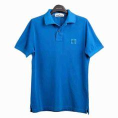 [G228]ストーンアイランド/STONE ISLAND/581522S67 V0022/メンズ/半袖/ポロシャツ/Tシャツ/ブルー