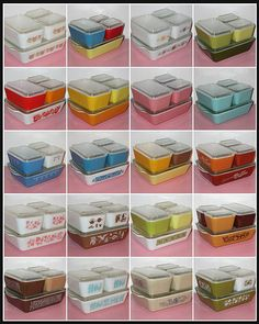 I love vintage Pyrex - especially the Refrigerator Dishes