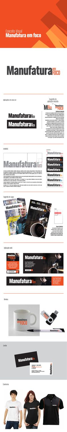 Processo de branding da marca Manufatura em Foco. #branding #logo #design