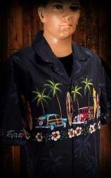 Hawaii Shirt - Palm tree