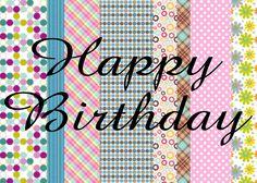 Happy Birthday, gefeliciteerd wenskaart www.kaartlandwenskaarten.nl https://www.facebook.com/KaartlandWenskaarten