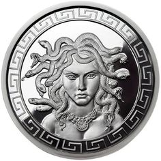 Buy 1 oz Proof-like Medusa Silver Rounds, New | JM Bullion™